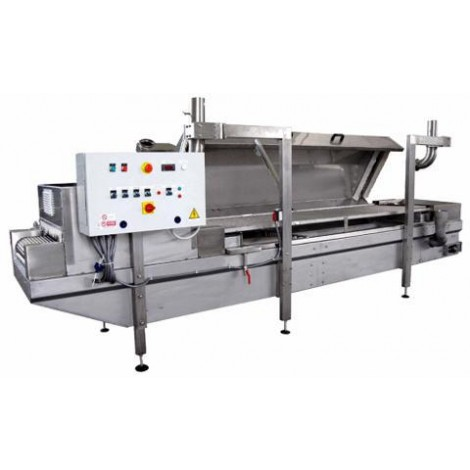 Pasteurizers equipment for the hydrothermal treatment of fresh pasta with filling mod. PS/270-G