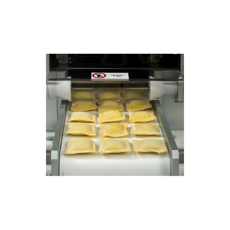 automatic ravioli machine double sheet mod rn 120 sc pastaria hub. Black Bedroom Furniture Sets. Home Design Ideas
