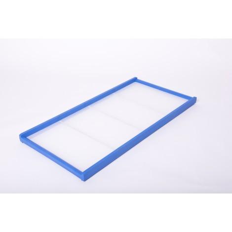 TELAIO per pastificio mod. 120.60  in materiale plastico a norme CE completo di rete