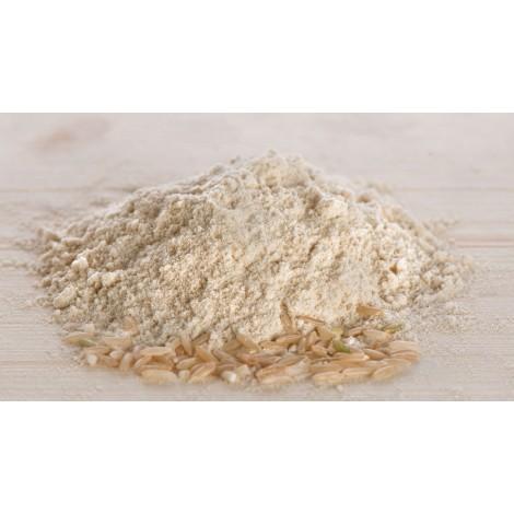 Farina e granella di riso
