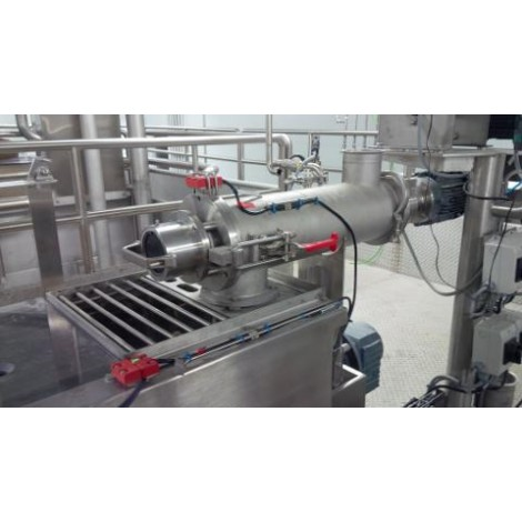 Pre-mixing fast centrifuge
