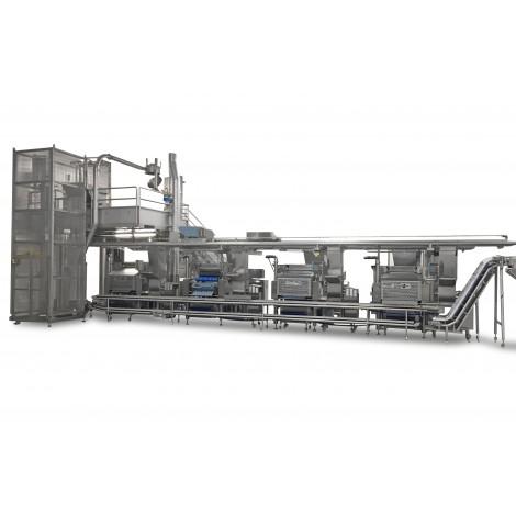 Linee di produzione per pasta a elevato livello di automazione