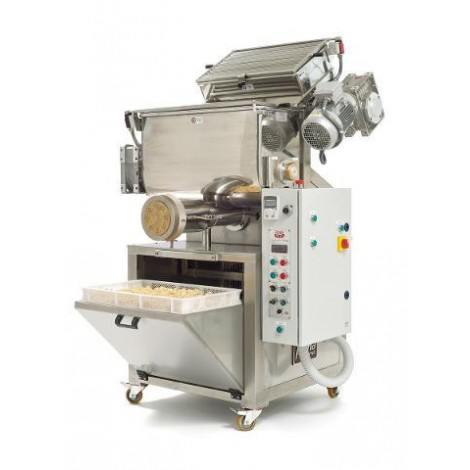 Automatic press extruder pasta machine mod. P/120