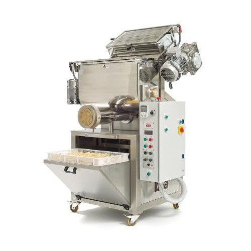 Automatic press extruder pasta machine mod. P/120