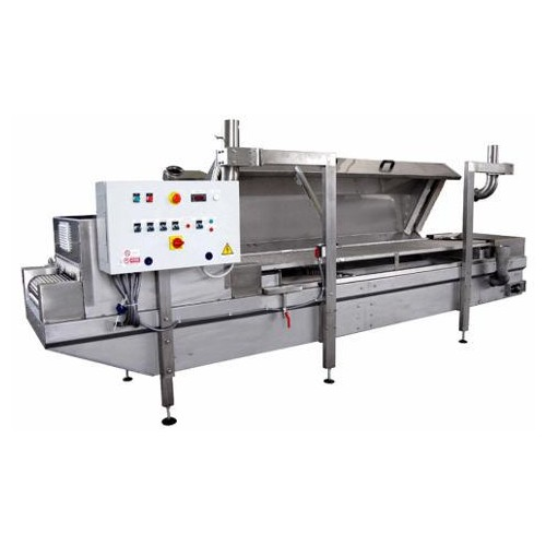 Pasteurizers equipment for the hydrothermal treatment of fresh pasta with filling mod. PS/600-G