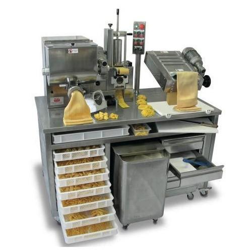 Pastation, macchina combinata per produzione pasta fresca per ristoranti