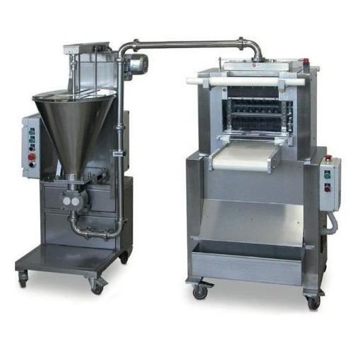 Raviolatrice automatica doppia sfoglia in continuo con alimentatore mod. RN/320-AL