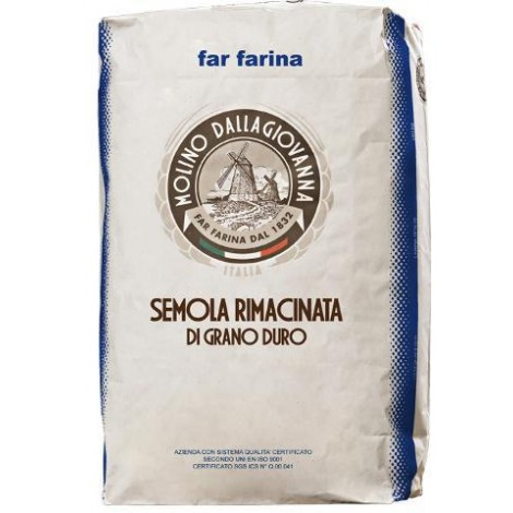 Re-milled semolina - durum wheat