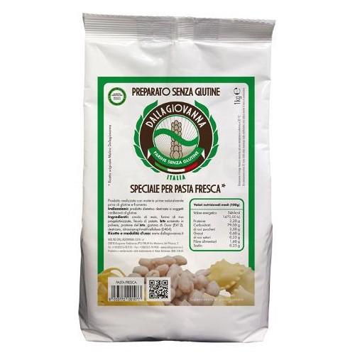 Preparato senza glutine speciale per pasta fresca