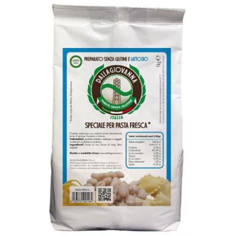 Preparato senza glutine e senza lattosio speciale per pasta fresca