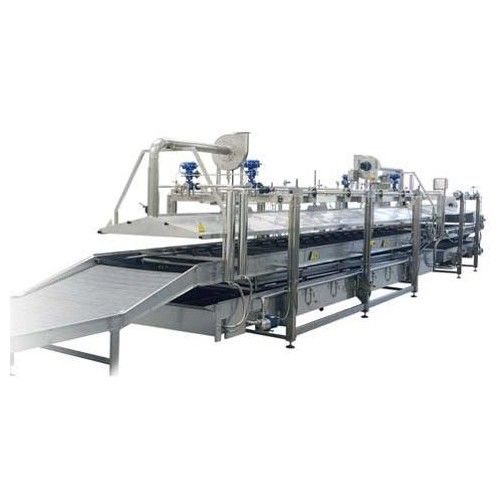 POLYVALENT LINE FOR PRE-COOKING AND PASTEURIZING